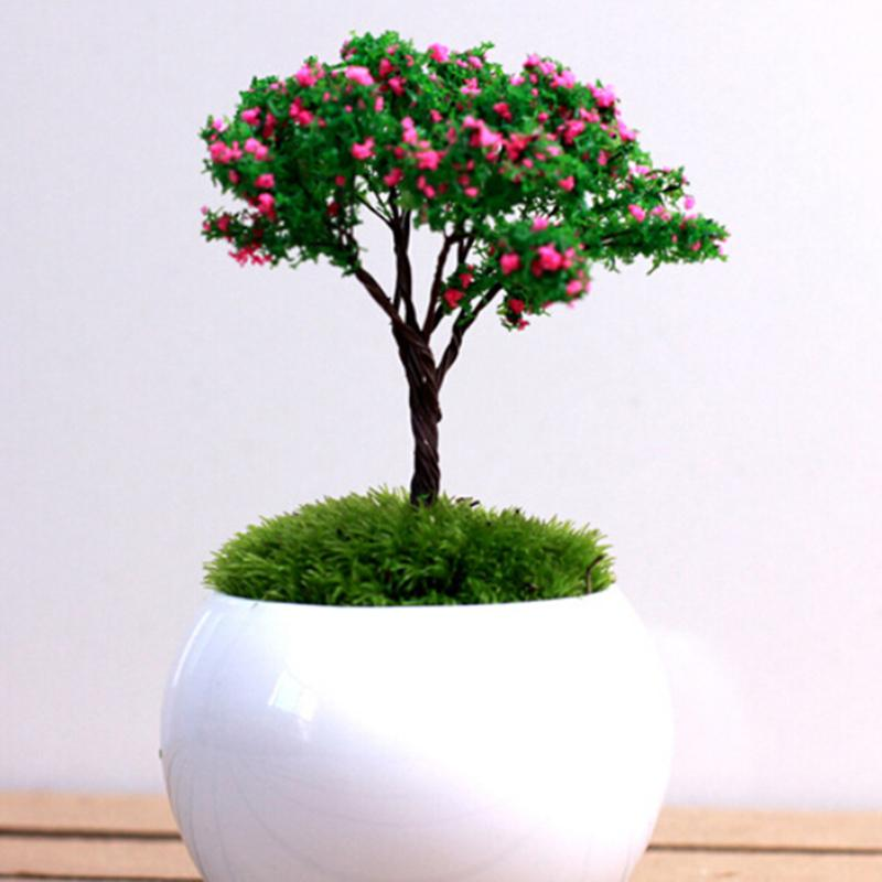 1 Pcs Garden Ornament Dollhouse Ornament Decor Tree Miniature Sakura Tree Plants  Fairy Garden Accessories In Hair Clips U0026 Pins From Beauty U0026 Health On ...