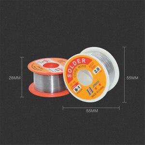 Image 2 - Оловянная свинцовая проволока 0,3/0,4/0,5/0,6/0,8/1/1.2/1.5/2.0 мм 50/100 г 2.0% Оловянная свинцовая проволока, канифольный сердечник, припой, бухта провода для пайки