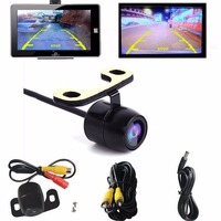 2017 Waterproof 12V 170u00a1u00e3 CMOS Reverse Color Backup Car Rear View Camera Night Vision Reversing Image