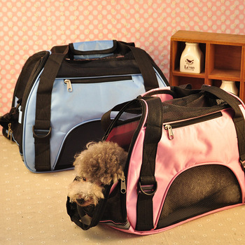 43*21*30cmPet Carrier Case Travel Tote Shoulder Bag Pet Dog Portable Home Bed Crate Cage Mini Puppy Cat Travel Soft Carrier Case