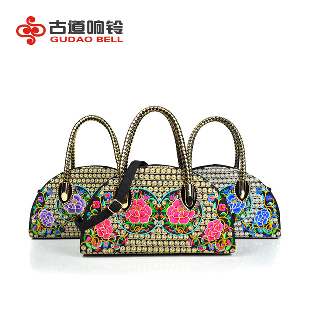 Women S Messenger Bags Embroidered Small Mini Cute Canvas Handbags Crossbody Bag Evening Drop Ship Wedding