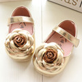 2016 Fashion Baby Girls Infant Shoes New Style Toddler First Walkers Soft Hook&Loop PU Newborn Skid-Proof Spring Autumn Shoe