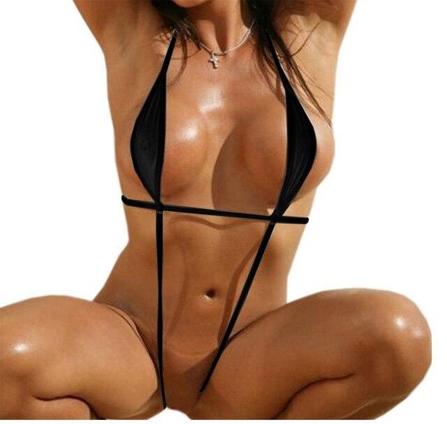 Mesh Micro Bikini Set