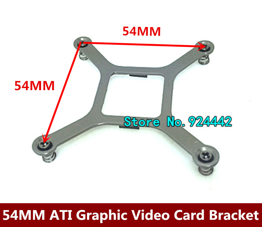 54mm Graphics card bracket Video card base metal spring screw bracket for ATI HD6990 7990
