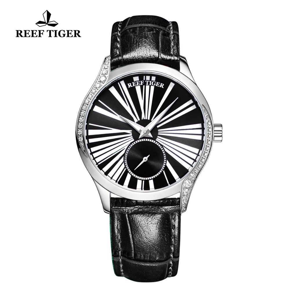 Reef Tiger/RT New Fashion Brand Steel Watch for Women Luxury Casual Automatic Watches Relogio Feminino RGA1561Reef Tiger/RT New Fashion Brand Steel Watch for Women Luxury Casual Automatic Watches Relogio Feminino RGA1561