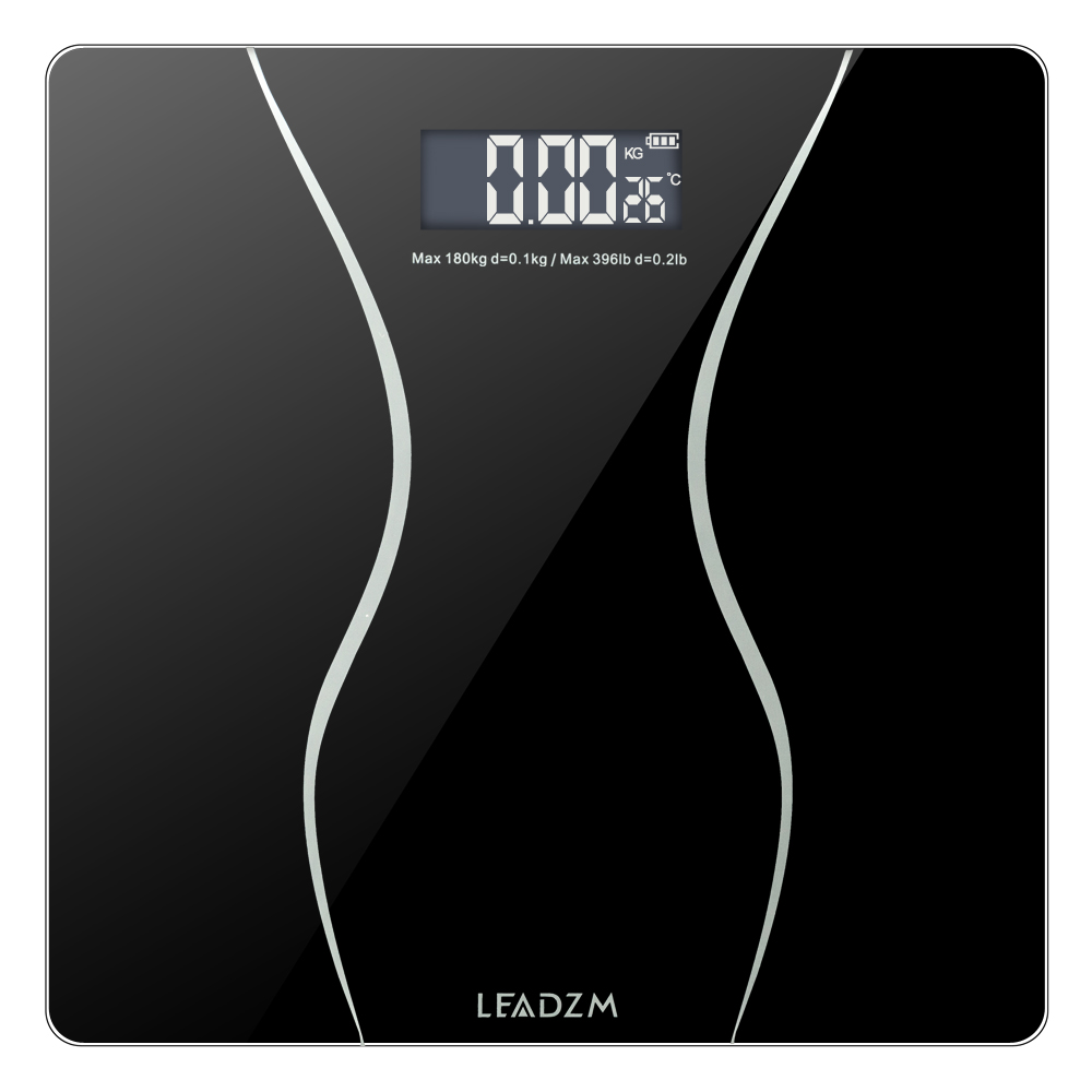 396LB 180KG Electronic LCD Digital Bathroom Body Weight Scale With Battery Only Ship To US(China)