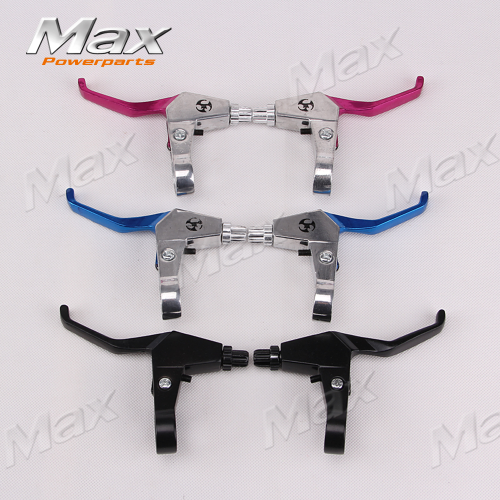 Handle Bar Brake Levers Fit Gas Scooter Minimoto Chopper Pocket Dirt Bike Brake Lever 43 47 49CC Scooter Minimoto Pocket Bike