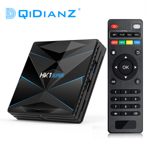 Image 1 - HK1 Super Android 9.0 Smart TV BOX Google Assistent RK3318 4K 3D Utral HD 4G 64G TV wifi Play Winkel 4G 128G Smart set top box