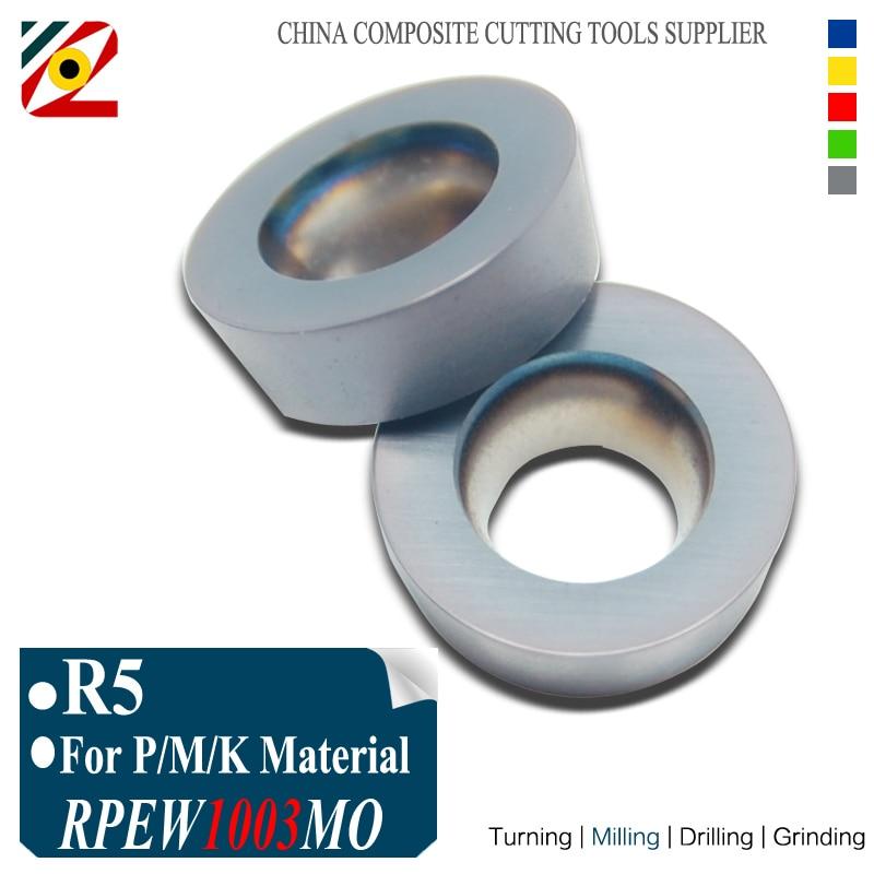 EDGEV 10 stks R5 RPMW1003MO RPEW1003 MO EP5250 Frezen Carbide Inserts Gereedschap voor Vlakfrees EMR Serie Gereedschap CNC Machine