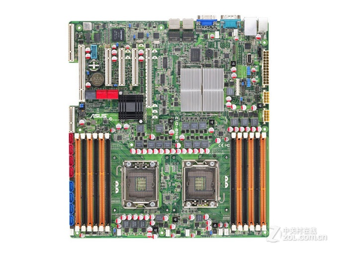 Original Dual Server Motherboard For ASUS Z8NR-D12 Socket LGA 1366 DDR3 X58 Desktop Motherboard Free Shipping
