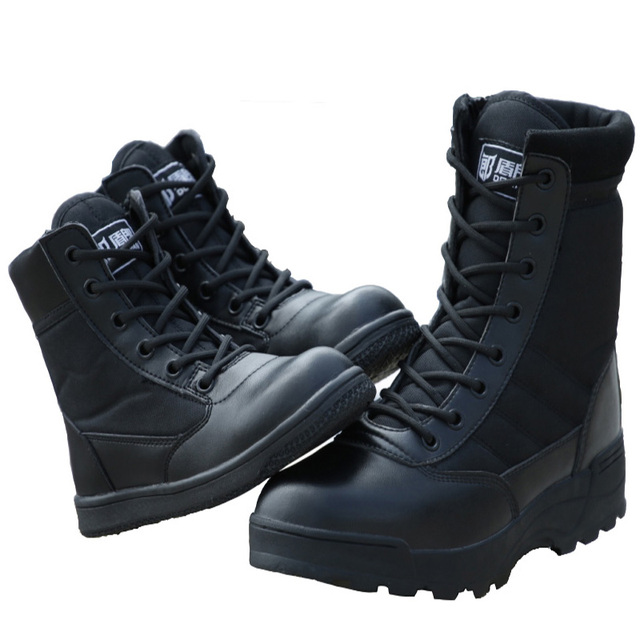 Outdoor Children Tactical Boots Military Army Shoes Black Breathable Shoes  Bota Masculina Boy Non-Slip Desert Hiking Boot Girls 5a0e4e0de99