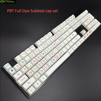 Periodic Table SA full dyesubbed Keycaps Set PBT Thick 1.6 PBT Keycap For DIY Cool Mechanical Keyboard And Real MKB Enthusiast