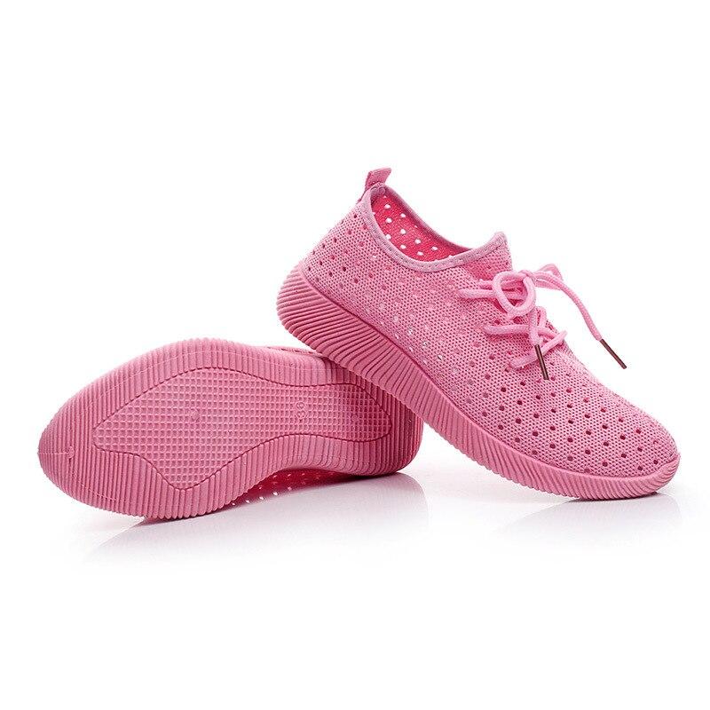 rose Cuir D'été Causalité Femmes Respirant Chaussures Confortable En Marque pourpre De Femme Noir Avec Trou Sneakers Plat qx5Z5AwR