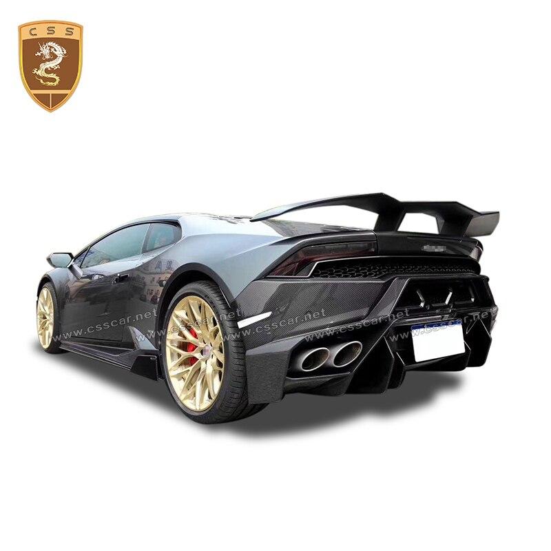 For Lamborghini Gallardo Lp610 Lp580 100 Carbon Fiber Rear Car