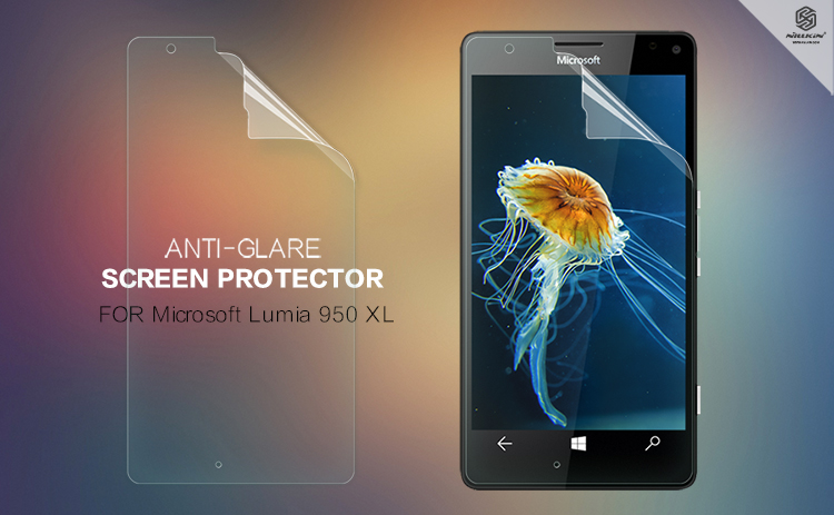 2 pcs/lot Screen Protector For Microsoft Lumia 950 XL NILLKIN Matte Scratch-resi
