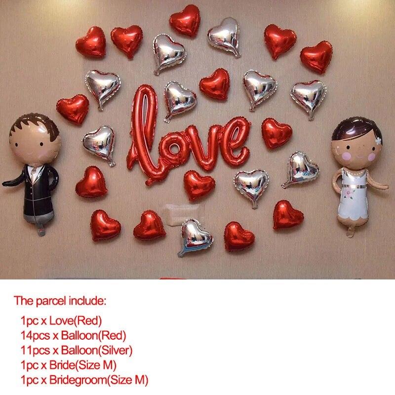 Aliexpress Com Buy Jeanne Love 2019 New Arrival Best: Aliexpress.com : Buy 2019 Silver Heart Wedding Balloons