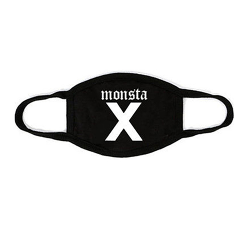 ALLKPOPER Kpop MONSTA X Mouth Mask Cotton Winter I.M Face Muffle Mouth-muffle Antidust