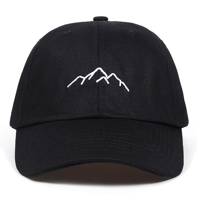 2018 new Mountain range embroidery Mens Womens Baseball Caps Adjustable Snapback Caps Fashion dad Hats Bone Garros