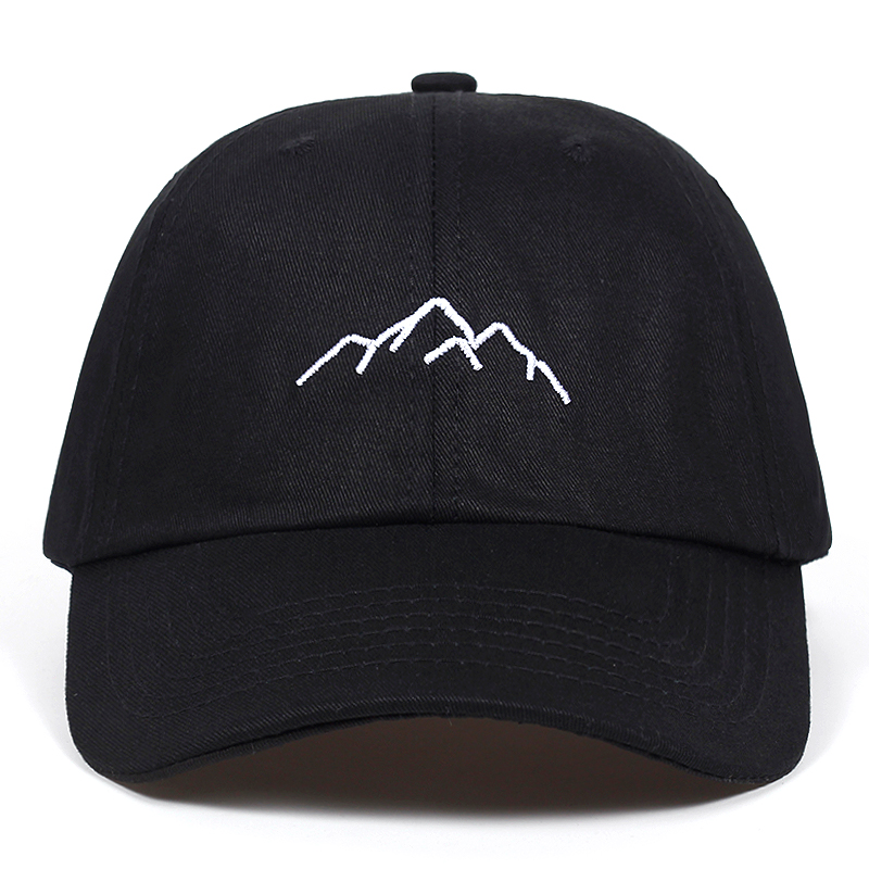 0ee41ed5f37 2018 new Mountain range embroidery Mens Womens Baseball Caps Adjustable Snapback  Caps Fashion dad Hats Bone Garros-in Baseball Caps from Apparel Accessories  ...
