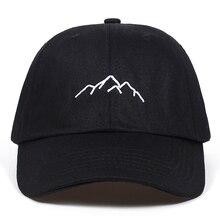 2018 new Mountain range embroidery Mens Womens Baseball Caps