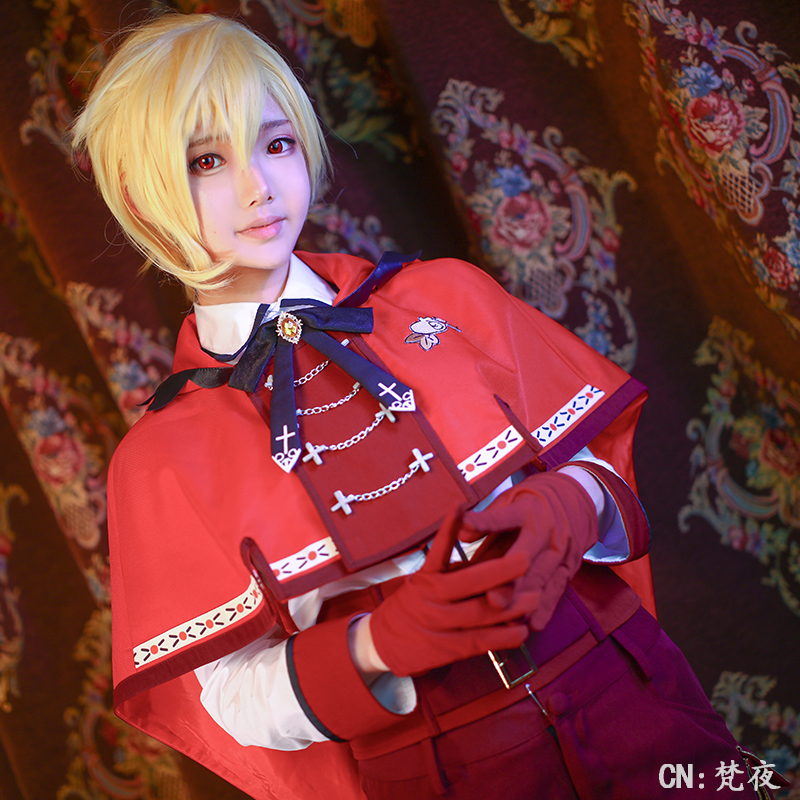 Ensemble Stars Rabits Nito Nazuna Forest's Red Riding Hood Cosplay Costume COSPLAYONSEN full set-in Game Costumes from Novelty & Special Use    1