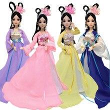 Bambole Hanfu vestiti Dress Up Hua Mulan Vestiti per le Bambole Accessori  Fatti A Mano Antico Costume Abbigliamento adatto per c. 412ea52064b