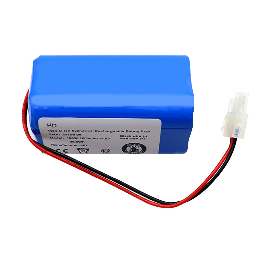14.8V 2600mAh Battery Pack replacement for chuwi ilife A6 v7 V7S Pro Robotic Sweeper  robot Vacuum Cleaner High quality