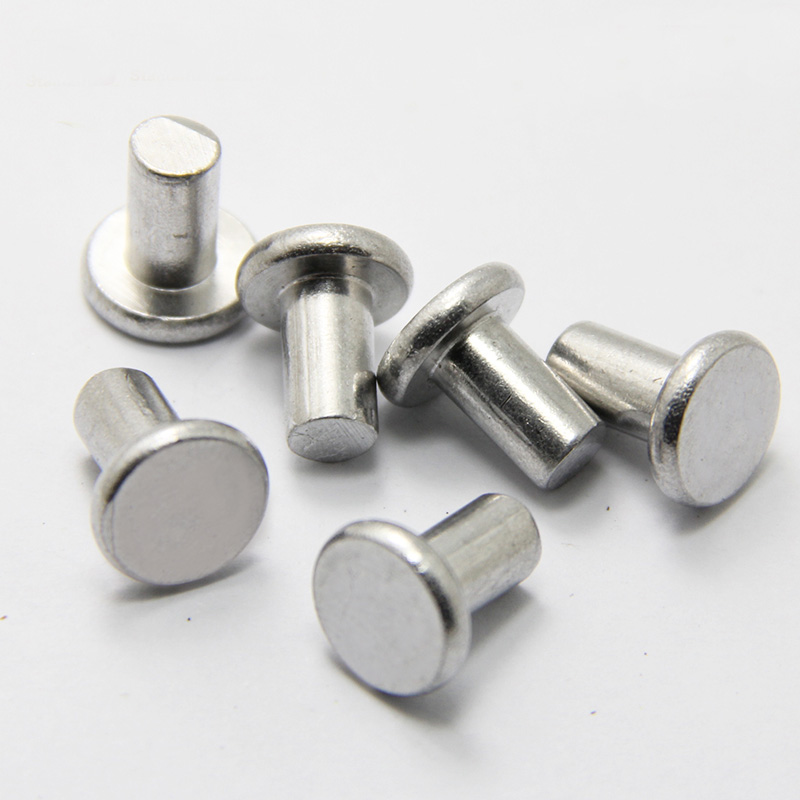 10 12 16 20-35mm Half hollow head Aluminum rivets hand hit percussion rivet M6*