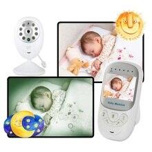 Babykam VIDEO NURSE baby monitor with monitor 2.4 inch nanny IR Night Vision Lullabies Temperature Monitor Baby Intercom 2X Zoom