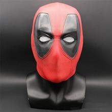 New Deadpool COSPLAY หน้ากาก Wade Winston Wilson หมวกกันน็อกเต็มรูปแบบ Latex หน้ากากฮาโลวีนแฟนซีคอสเพลย์ Props ฮาโลวีน