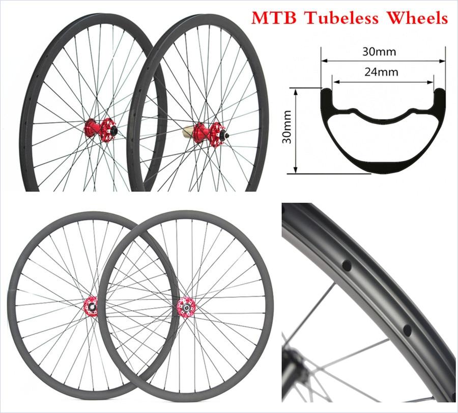 3030 275er Mountain Bike Bicycle Mtb Carbon Rims Wheels