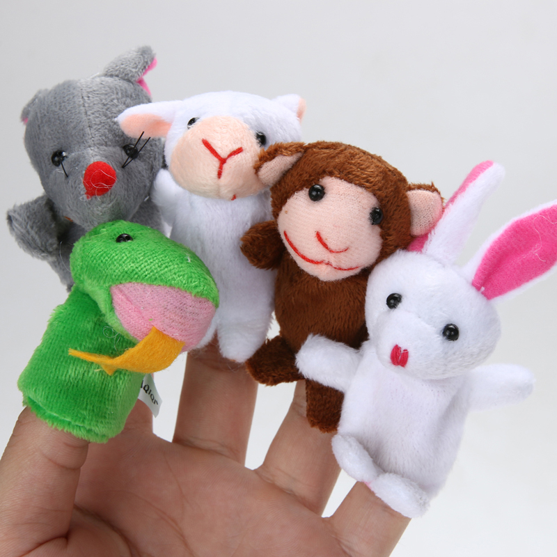 12pcslot-Finger-Puppet-Plush-Toys-For-Kid-Chrismas-Gift-Animal-Cartoon-Chinese-Zodiac-Biological-Doll-Baby-Favorite-Finger-Doll-4