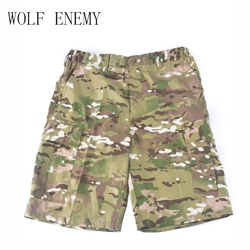 Super Deals Buy Shorts Men Bermuda Shorts Camouflage/Camo Military/Army Cargo Shorts Short Pants