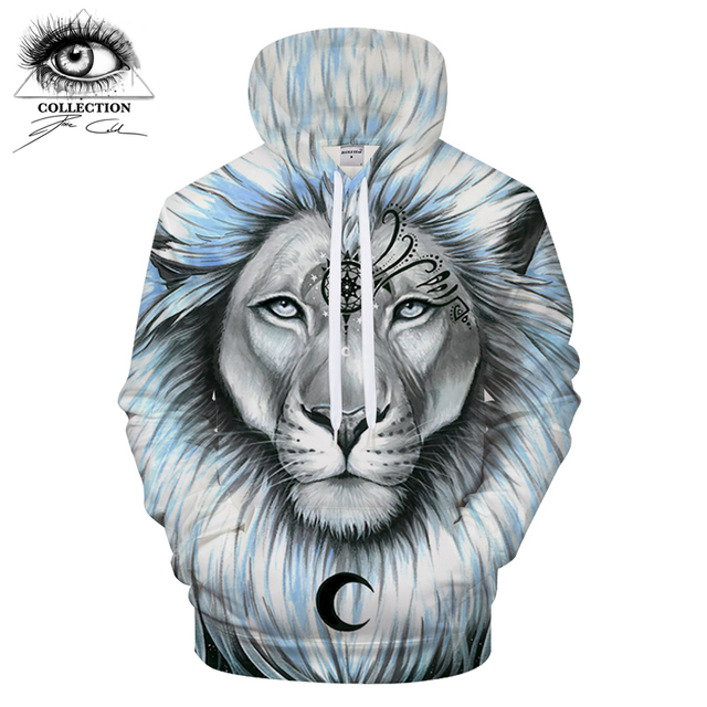 f08bb077558f lion galaxy By Pixie coldArts 3D Print Hoodies Men Casual Sweatshirt  Tracksuit Pullover Jacket Hooded Streatwear Coat DropShip