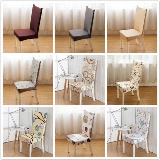 dining arm chair covers convertible to bed furniture europe style printed cover restaurant wedding party spandex seat for kitchen