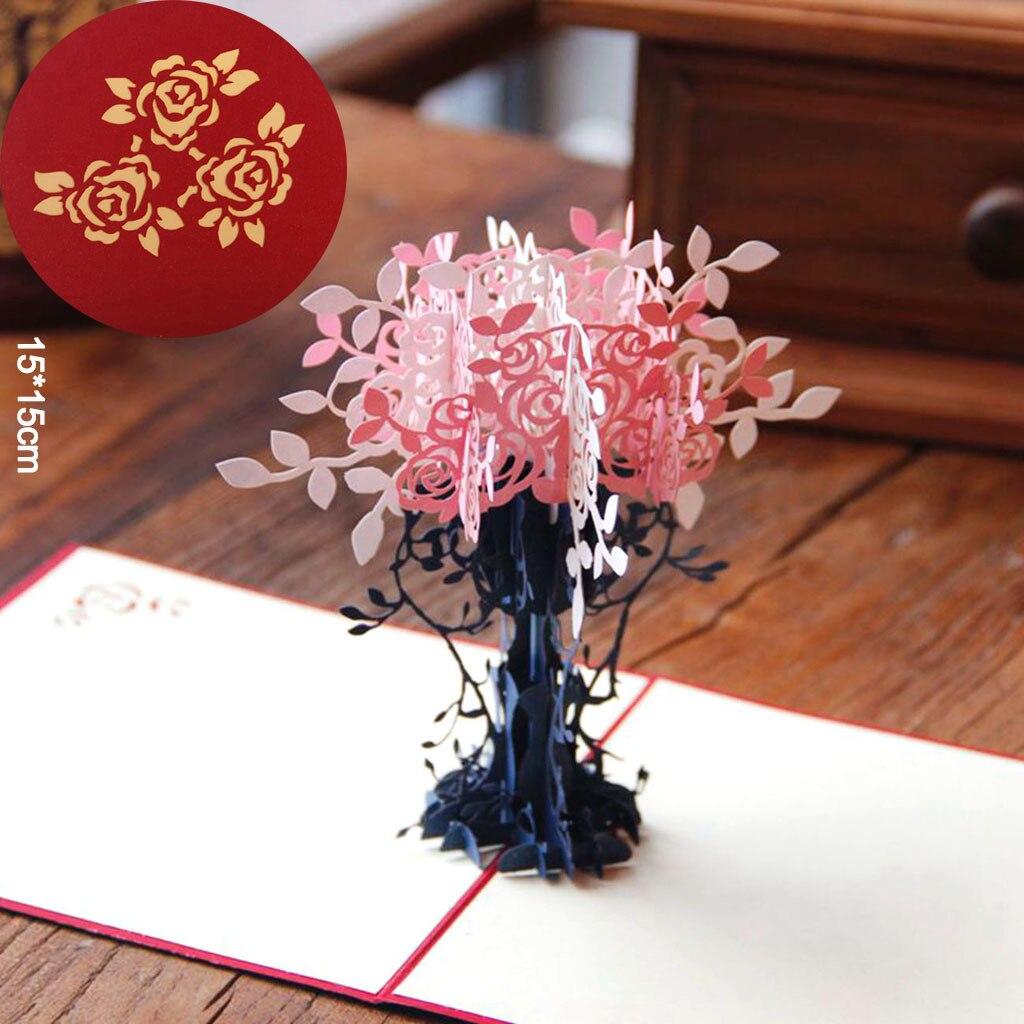 49 STÜCK 49D Papier Grußkarten Kostenloser Versand Grußkarte ... - 3d Einladungskarten Hochzeit