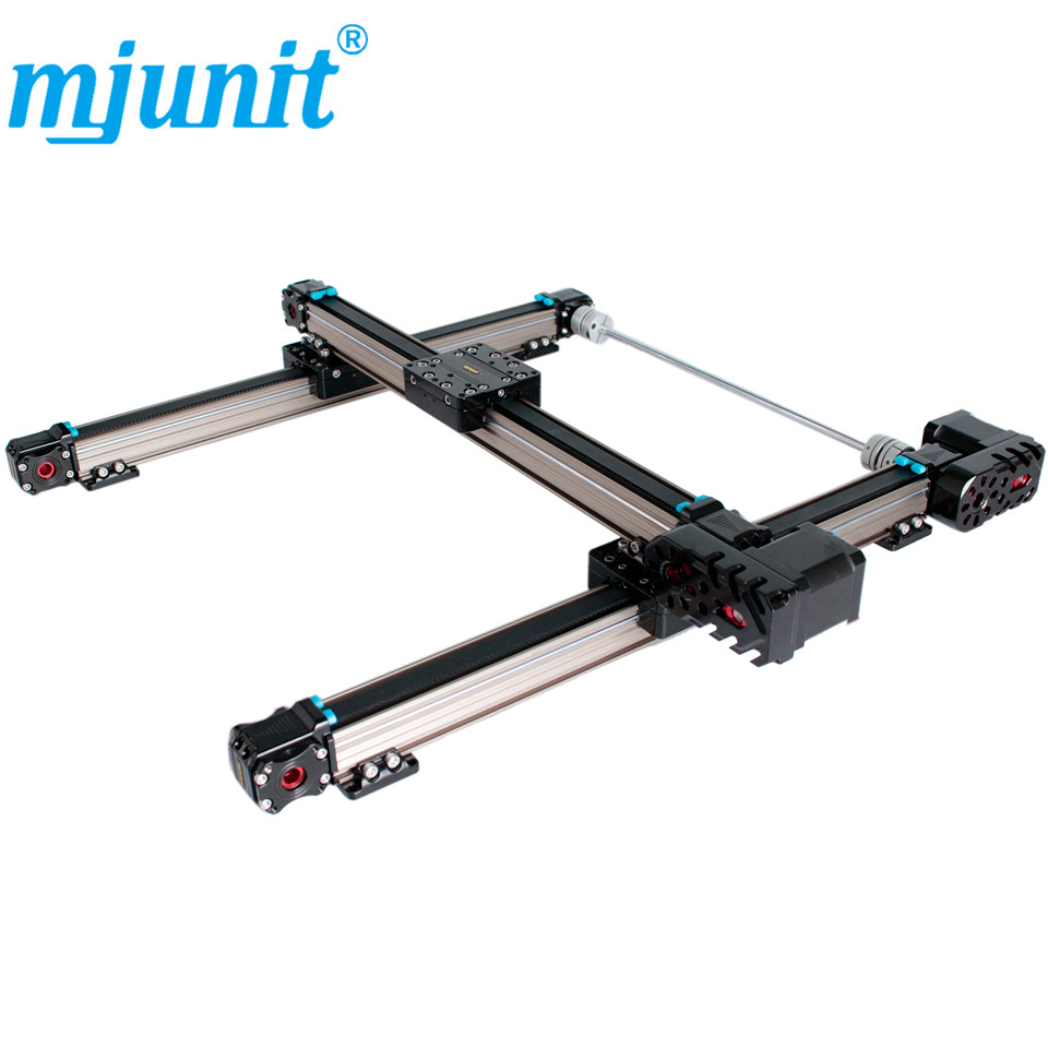X axis Linear Motion Stage, Motorized Positioning Stage,Stepper Motor,Precision Linear Stages,Application for Labs belt driven guided linear actuator any travel length linear motion motorized linear stage heavy duty belt driven stage