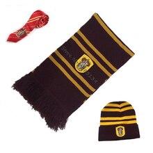 Ainiel Гермиона шарфы кепки галстук Гриффиндор Slytherinn Ravenclaw Hufflepuff галстук, шляпа, шарф Косплей Костюм для женщин детей мужчин