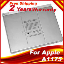 Free shipping new 6 Cells Laptop battery for Apple MacBook Pro 15