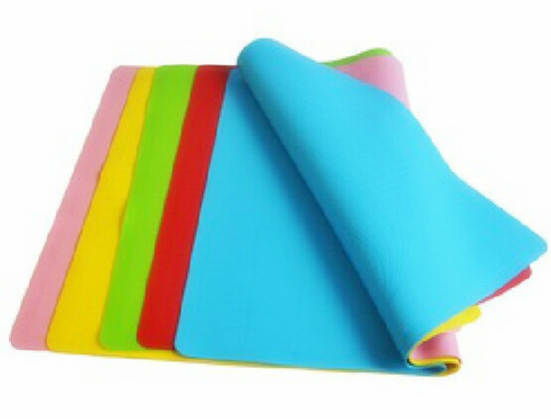 No Calibration Silicone Mat Pad Chopping Board Operation High Temperature Thickening Drawing Slip-resistant Tools