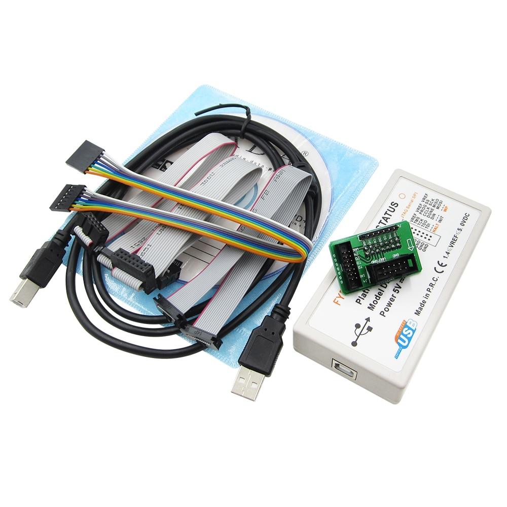 Xilinx Platform USB Download Cable Jtag Programmer FPGA CPLD C-Mod XC2C64A M102 LVTTL LVCMOS 3.3V 2.5V 1.8V 1.5V JTAG SPI iMPACT module xilinx xc3s500e spartan 3e fpga development evaluation board lcd1602 lcd12864 12 module open3s500e package b
