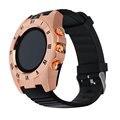 Relógio de pulso de moda s5 bluetooth smart watch esporte pedômetro com câmera sim smartwatch para android smartphone venda quente