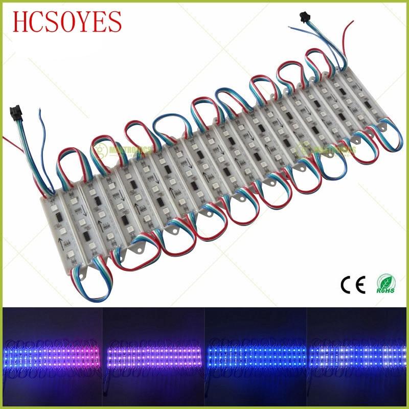 500pcs 25x20pcs/row Super Bright Ws2811 Waterproof Dc 12v 3leds/pcs 5050 Rgb Led Pixel Module Light Led Strips