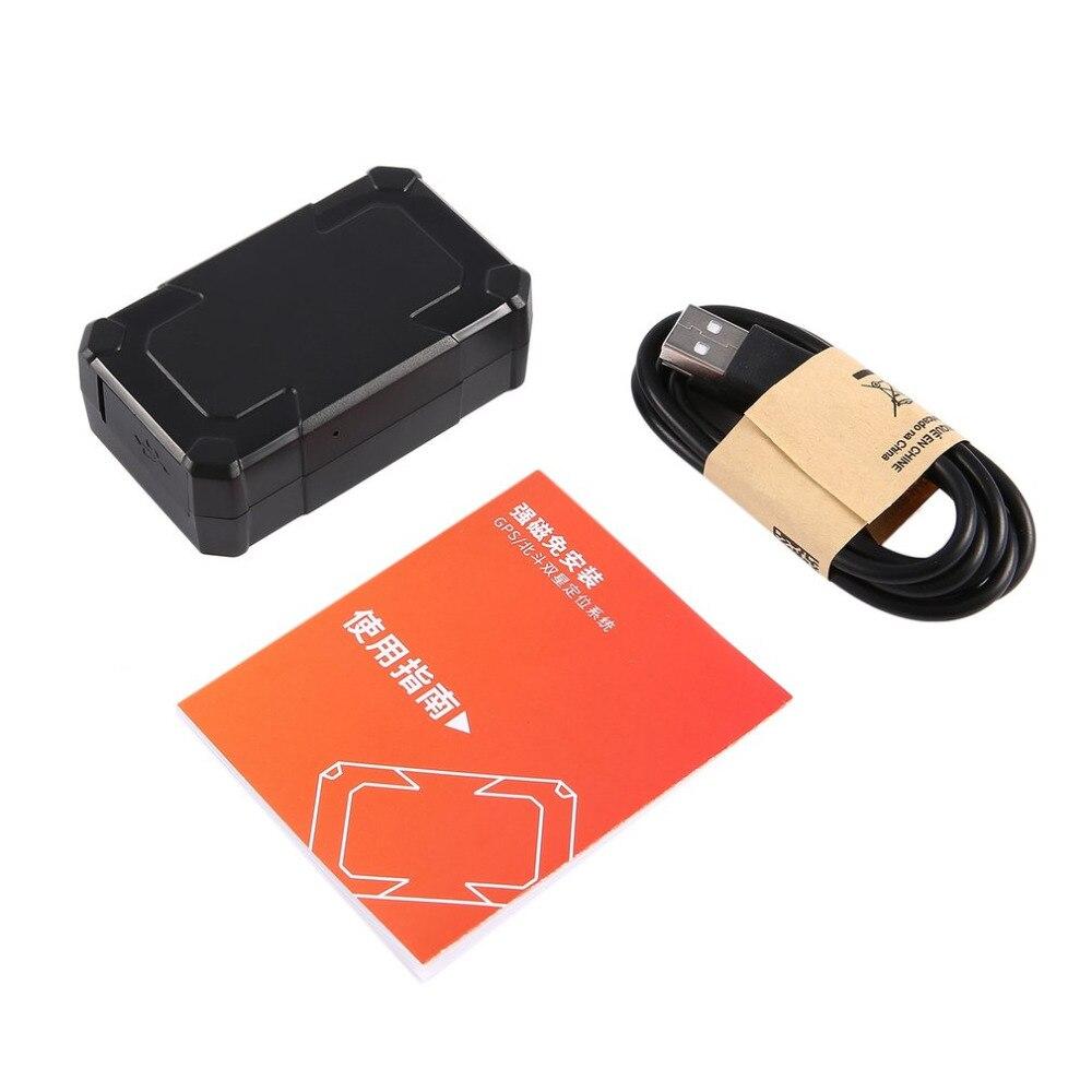 Nouveau Portable GT018A Véhicule De Voiture Magnétique GPS Temps Réel Tracker Localisateur Suivi et la Surveillance Des Dispositifs Auto Alarme Personnelle Chaude
