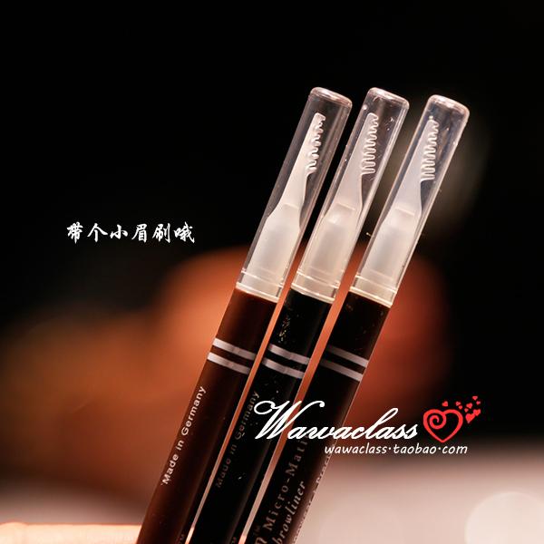 Alemania Qian Ying rotación lápiz de cejas a prueba de agua y sudor authentic natural palabra duradera lápiz de cejas con el cepillo de cejas