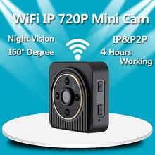 VRFEL Wifi Mini Portátil de La Cámara 720 P HD Micro Cámara de Infrarrojos la Visión nocturna de la Cámara de La Pluma Grabadora de Voz Video Mini DV DVR Cam