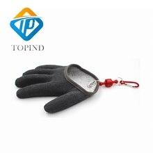 Topind anti-cut winter hunting latex fishing gloves waterproof for men maximum catch glove carp accessories equipment