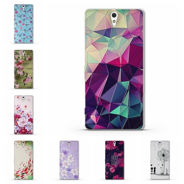 timeless design 430ab 498c4 US $0.99 10% OFF|Case For Coque Sony Xperia C5 Ultra Case Cover Soft  Silicone Cover For Fundas Sony C5 Ultra dual E5553 E5506 E5533 Phone  Cases-in ...