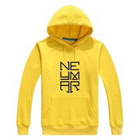 Asian Size NEW 2017 neymar name logo Men Women hoodies cool Printed Sweatshirts for brazil fans gift 0822 7