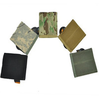 Emerson Army Military Combat Molle Tactical Pistol Mag Pouch Vest Belt Clip On QD Double Handgun